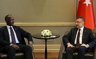 Cumhurbaşkanı Yardımcısı Oktay Sudanlı mevkidaşı ile bir araya geldi