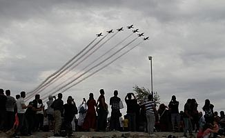 Türk Yıldızları, Konya'da gösteri yaptı