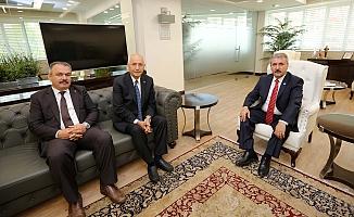 BBP Lideri Destici'den, Fethi Yaşar'a ziyaret
