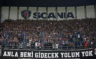 Beşiktaşlı taraftarlardan, Fenerbahçe yönetimine teşekkür mesajı