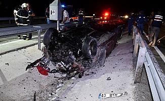 Konya'da trafik kazası: 1 ölü, 6 yaralı