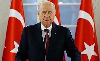 MHP Genel Başkanı Bahçeli: Türkçe duruş gösterirsek milli vicdanın çağrısını işitiriz