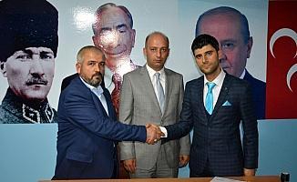 MHP Suşehri İlçe Başkanlığında görev değişimi