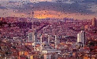 Sağanak Yağış Geliyor... İşte Ankara'da Hava Durumu