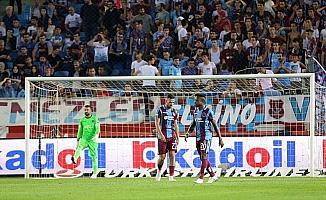 Trabzonspor'un kalesi ilk yarılarda düştü