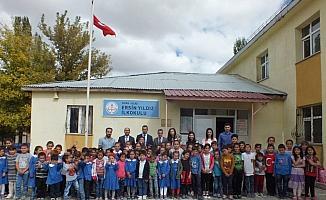 Ulaş Milli Eğitim Müdürü Gül'den köy okullarına ziyaret