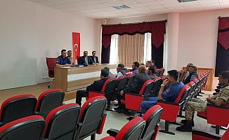 Ulaş'ta servis şoförlerine eğitim verildi