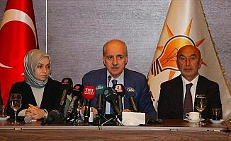AK Parti Genel Başkanvekili Kurtulmuş: Türkiye bu işin arkasını bırakmayacak