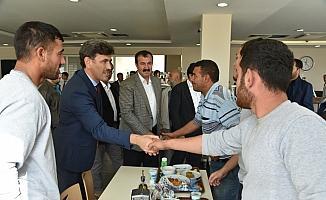 AK Parti İl Başkanı Çalışkan'dan ziyaret