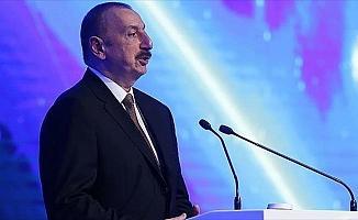 Azerbaycan Cumhurbaşkanı Aliyev: Türkiye dünya çapında söz sahibidir, bu bizi çok sevindiriyor