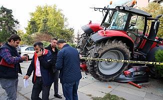 """Başkentte """"traktör"""" alarmı"""
