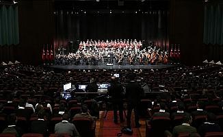 CSO yeni sezon açılışı Cumhurbaşkanlığı Külliyesi'nde yapıldı