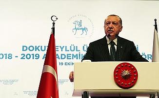 Erdoğan: Yeni dönemde öncelikli hedefimiz...