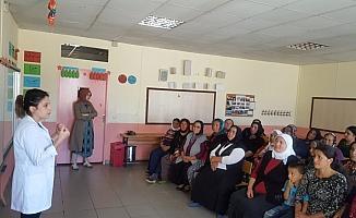 Kadınlara kanser bilgilendirme eğitimi verildi