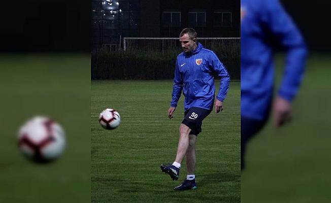 Kayserispor'da Sivasspor maçı hazırlıkları başladı
