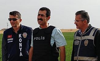 Konya'da tarlada 2 erkek cesedi bulunması