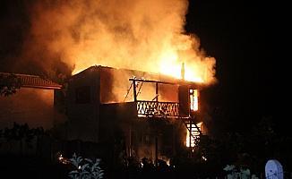 Konya'da yangın