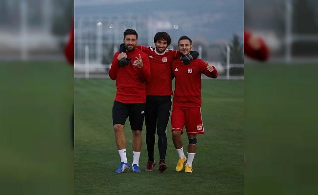 Sivasspor, Fenerbahçe maçı hazırlıklarını tamamladı