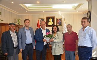 THK'dan Başkan Yaka'ya ziyaret