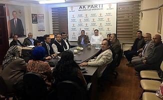 AK Parti Nallıhan İlçe Başkanlığı'nda toplantı