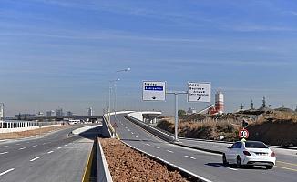 Başkent trafiğini rahatlatacak yol çalışmalarında sona yaklaşıldı