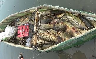 Beyşehir Gölü'nde yasa dışı avlanma