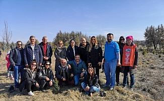 Erozyon ve çölleşmeye dikkat çekmek için Karapınar'da buluştular