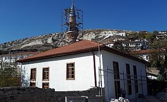 İmaret Camisi'ndeki restorasyon çalışmaları sürüyor