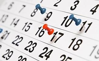 İşte 2019 yılı resmi tatil günleri