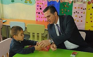 Kızılcahamam Kaymakamı Yıldız'dan okul ziyareti