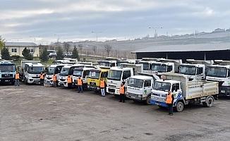 Mamak Belediyesi zorlu kış şartlarına hazır