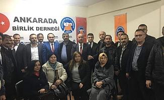 Sincan Belediye Başkanı Ercan, Ankara'da Birlik Sohbetleri'nin Konuğu Oldu