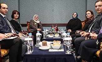 Türkiye ile Filistin arasında 'kadınlar için' iş birliği anlaşması