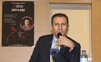 Yazar Ziya Karatekin, Başkentte gençlerle buluştu