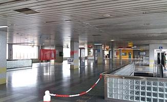 Ankara'da Metro İstasyonunda İntihar