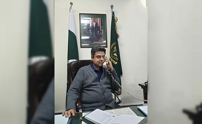 Bakan Gül'den Pakistan'a teşekkür telefonu