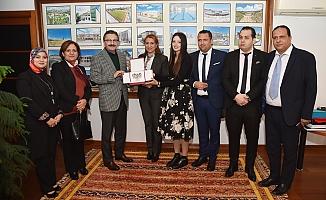 Başkan Tiryaki Tunus heyetine Altındağ'ı anlattı