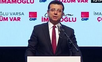 Ekrem İmamoğlu İstanbul hedeflerini açıkladı!