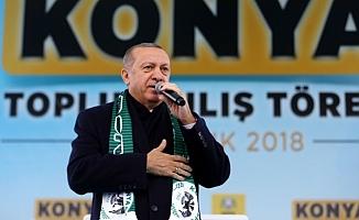Erdoğan: Trump ile konuştum, teröristler gitmeli