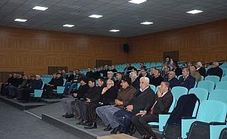 Sarıkaya Köylere Hizmet Götürme Birliği toplantısı yapıldı