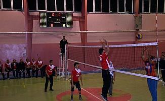 Şarkışla'da voleybol turnuvası