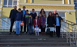 Ulaş'ta özel eğitim öğrencileri bir araya geldi