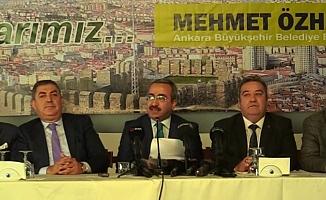 10 Federasyon ve 489 Dernekten Mehmet Özhaseki'ye destek