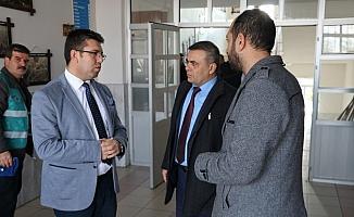 Başsavcı Vekili Tezcan okullarda çalışan hükümlüleri ziyaret etti
