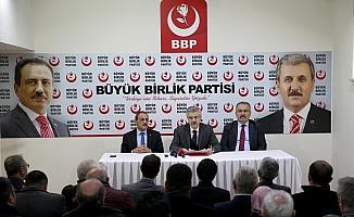 BBP'nin yerel seçim hazırlıkları
