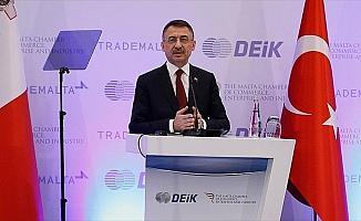 Cumhurbaşkanı Yardımcısı Oktay: AB'yle Gümrük Birliği'nin güncellenmesi Türkiye ve Malta için önemli
