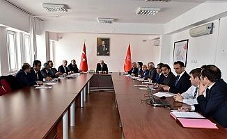 Karaman'da seçim toplantısı