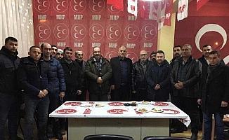 Mahmudiye'de AK Parti'den MHP'ye ziyaret