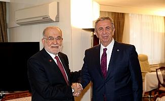 Mansur Yavaş'tan Karamollaoğlu'na ziyaret
