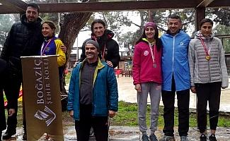 Milli atlet Urkuş Işık üçüncü şampiyonluğunu kazandı